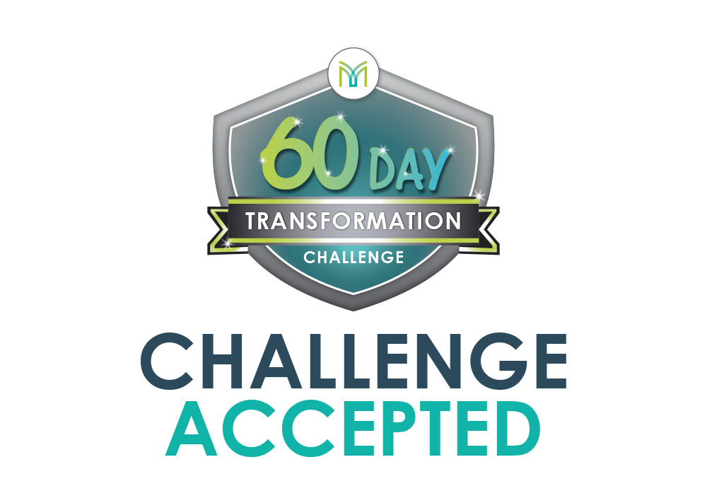 60 Day Transformation Challenge sign