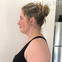 Brunhilde Gerber is first place winner of our 2019 Female Transformation Challenge