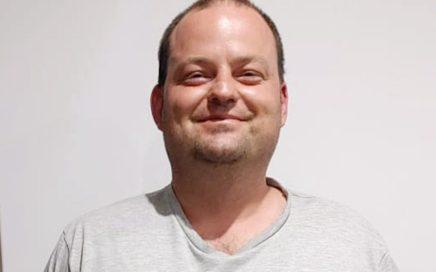 Rikus Marais, winner of the Men's Body Transformation award